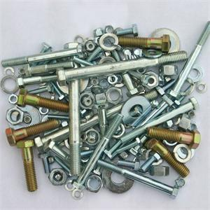 miscellaneous galvanized bolts